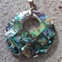 Pendentif abalone