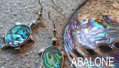 Bijoux abalone de créateurs ART des ILES